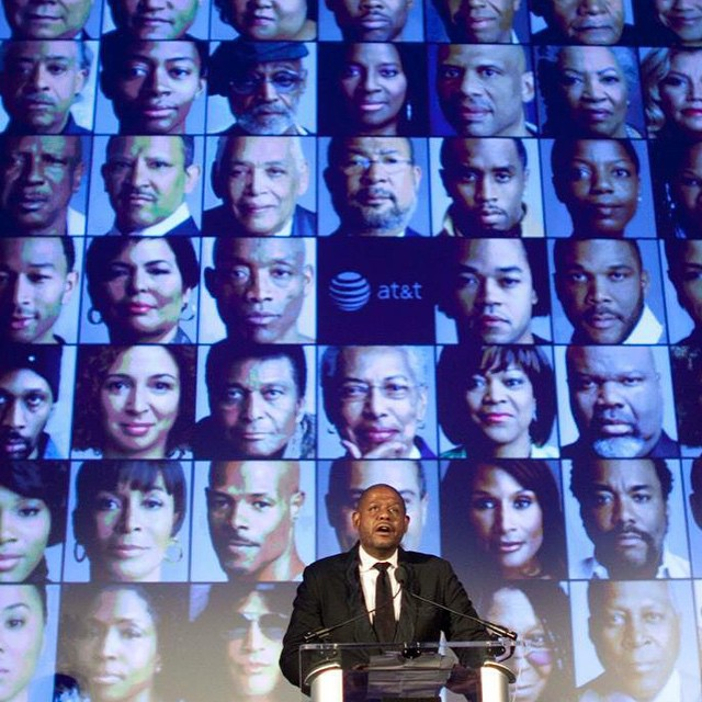 @teehive as we conclude African American History Month we will never forget the opportunity you gave us to Produce The Black LIst event #forrestwhitaker #eawdesign #at&t #nationalportraitgallery #smithsonian #epic #theblacklist
