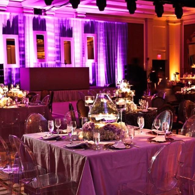 A soft look for a romantic room #weddingwednesday #lighting #EAW #luxuryweddings #romance #candlelight