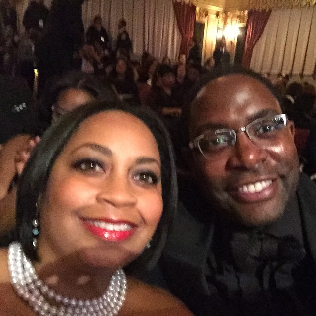 Had a great time tonight/morning with my wife  @robyncswells! @betnetworks  show and after set-The BET Honors #greatness #honors #bethonors2015 #eaw #fun #BET